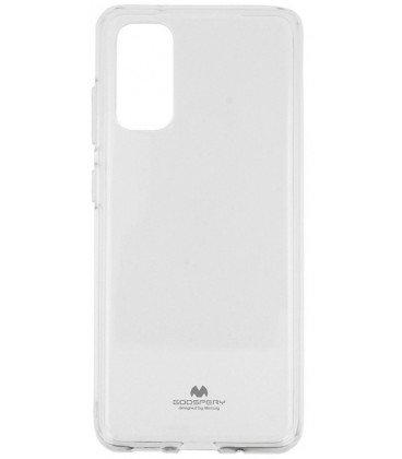 Goospery Jelly maska za Samsung Galaxy S20 G980, silikonska, tanka, prozirna