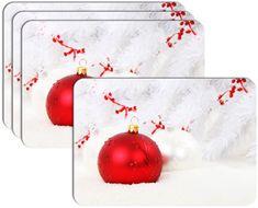 RoomDecor.eu Vianočné prestieranie-051, 4 Ks