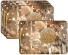 RoomDecor.eu Vianočné prestieranie-053, 4 Ks