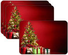 RoomDecor.eu Vianočné prestieranie-063, 4 Ks