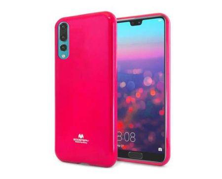 Goospery Jelly ovitek za Samsung Galaxy S20 Plus G985, silikonski, roza