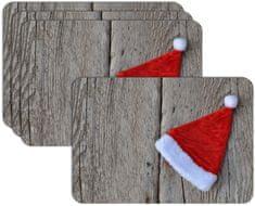 RoomDecor.eu Vánoční prostírání-069, 4 Ks