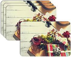 RoomDecor.eu Vánoční prostírání-070, 4 Ks