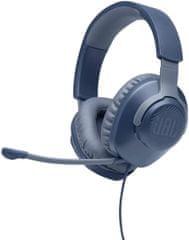 JBL Quantum 100 Gaming slušalice, plave