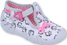 Befado dievčenské papučky Befado Speedy 110P377