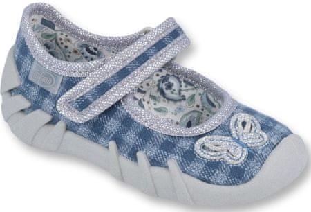 Befado 109P188 Speedy papuče za djevojčice, plave, 18