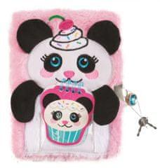 Make It Real Tajný deník chlupatý - Panda