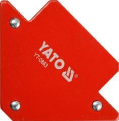 YATO Úhelník ke svařování 11,5 kg magnetický YT-0863 YATO