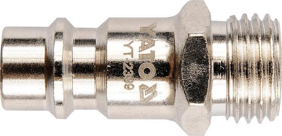 """YATO Vzduchová rychlospojka vsuvka s vnějším závitem 1/4"""" YT-2399 YATO"""