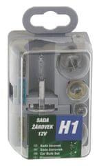 Compass Autožárovky servisní box UNI H1 12V GREEN