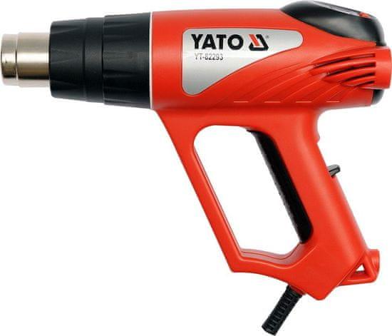 YATO Horkovzdušná pistole 2000W s příslušenstvím YT-82293 YATO