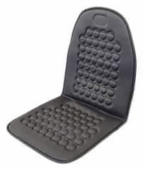 Compass Autopotah na sedadlo masážní s magnety šedý