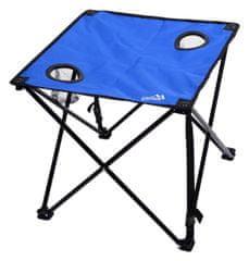 Cattara Stůl kempingový skládací LISBOA modrý CATTARA