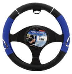 Compass Potah volantu 37-39cm modrý RALLY