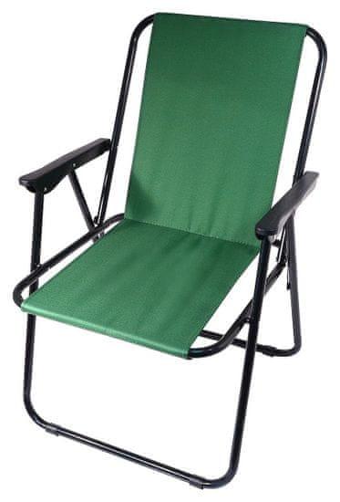 Cattara Židle kempingová skládací BERN zelená CATTARA