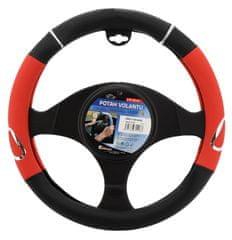 Compass Potah volantu 37-39cm červený RALLY