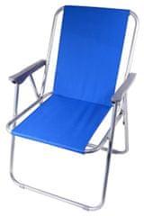Cattara Židle kempingová skládací BERN modrá CATTARA
