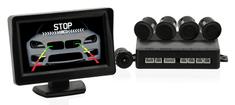 Compass Parkovací asistent 4 senzory + zadní kamera COMPASS