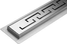 Vorel Lineární koupelnový žlab OLIMP 90 cm WET&DRY