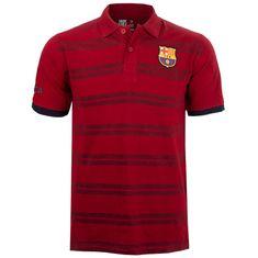 FC Barcelona N°6 polo majica, rdeča