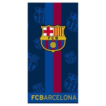FC Barcelona brisača, 140x70, modra