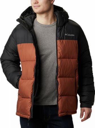 Columbia Pike Lake Hdd muška jakna, crno-smeđa, S