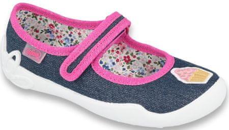 Befado 114X398 Blanca papuče za djevojčice, tamno plave, 25