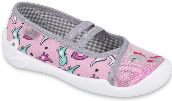 Befado dievčenské papučky Blanca 116X280 26, ružová