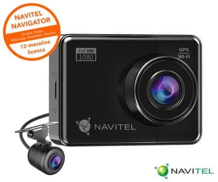 Navitel R700 GPS Dual avto kamera, Sony senzor, Full HD, Night Vision - Odprta embalaža