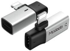 Mcdodo WF Series Lightning to Dual Lightning Adapter CA-6181, stříbrný