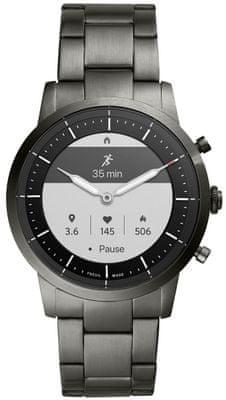 Chytré hodinky Fossil FTW7009, vodotěsné, měření tepu, tepová frekvence, kroky, spálené kalorie, vzdálenosti