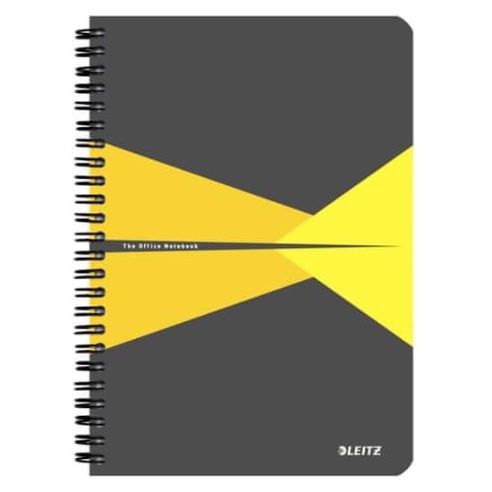 Blok na psaní Leitz Office A4 linkovaný žlutý