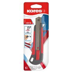 Kores Nůž zalamovací s kovovou lištou velký (18mm)