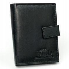 Always Wild Praktická pánská peněženka Emil, černá