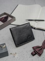 Always Wild Pánská kožená peněženka Dominik, černá