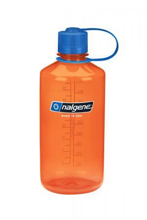 Nalgene Narrow Mouth steklenica, 1 l, oranžna