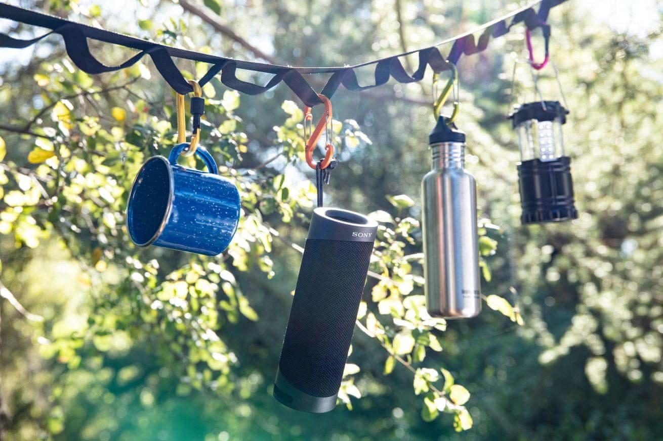 Brezžični bluetooth zvočnik Sony SRS-XB23 dolgo trajanje baterije 12 ur funkcija Party Connect povezava več zvočnikov
