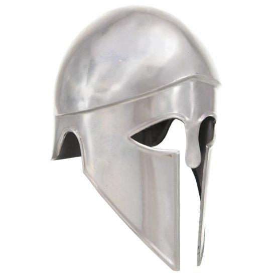 shumee Řecká vojenská přilba pro LARPy replika stříbro ocel
