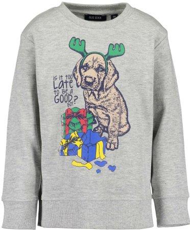 Blue Seven pulover za dječake, sivi, 92