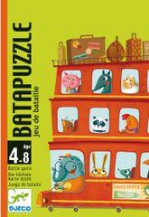 Djeco Zábavná kartová hra BataPuzzle