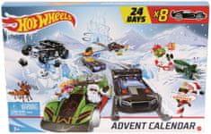 Hot Wheels Adventný kalendár
