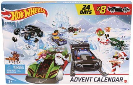 Hot Wheels adventni koledar