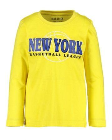Blue Seven fantovska majica, rumena, 104