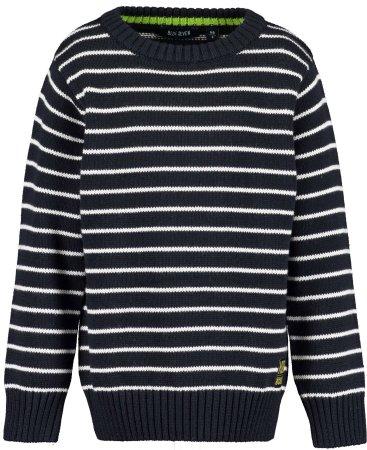 Blue Seven pulover za dječake, tamno plavi, 116