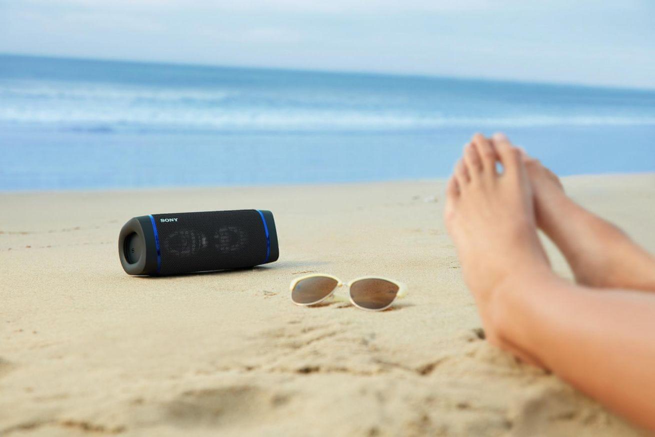 brezžični brezžični zvočnik bluetooth Sony SRS-XB33 x-uravnotežena zvočna enota zmanjšuje izkrivljanje zvoka čist zvok
