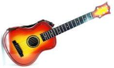 Euro-Trade Detská gitara s púzdrom 30x80x7cm