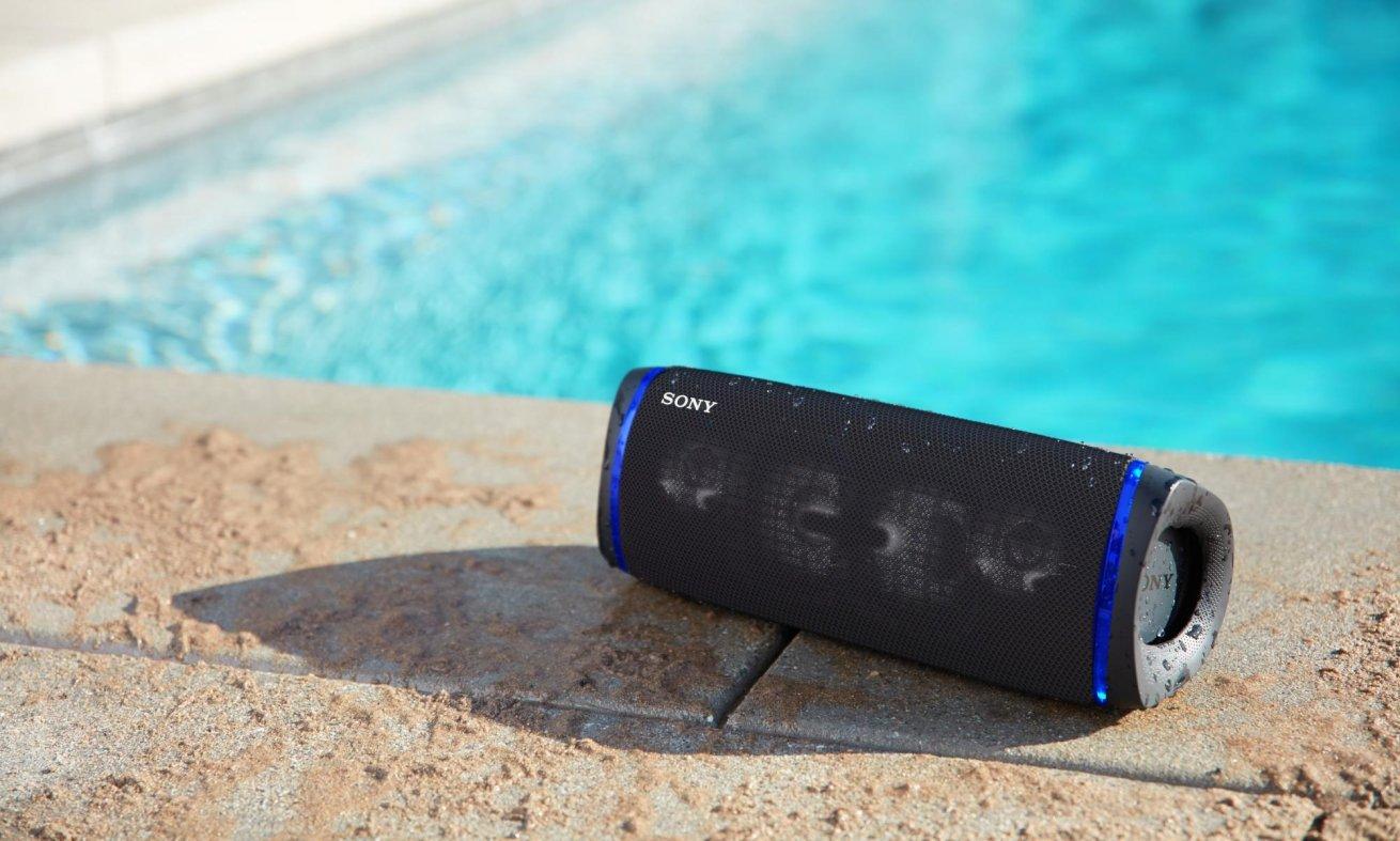 Brezžični bluetooth zvočnik Sony SRS-XB43 vodoodporen proti prahu
