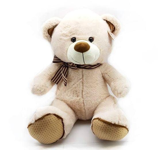 Wiky Plyšový medveď svetlý 40cm