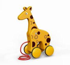 Euro-Trade BamBam ťahačka žirafa