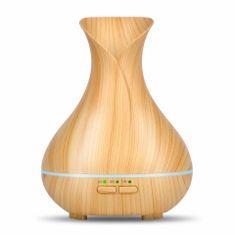 """GOLDSUN Aroma diffúzor """"Tulipán MINI 150ml"""" légfrissítő és párásító - könnyű fa"""